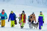 Обучение по сноуборду и горным лыжам